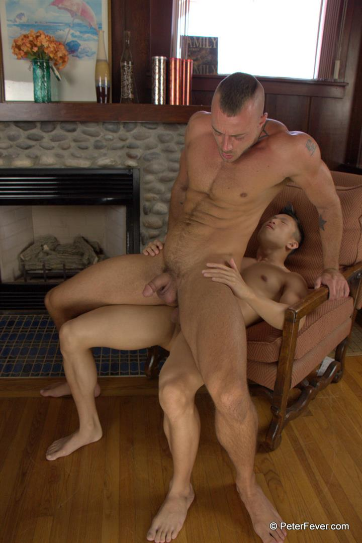 Peter Fever The Asiancy Peter Lee and Jessie Colter Big Cock Asian Guy Fucking White Muscle Guy Amateur Gay Porn 19 Big Asian Cock Stud Fucks A White Muscle Guy In His Bubble Butt