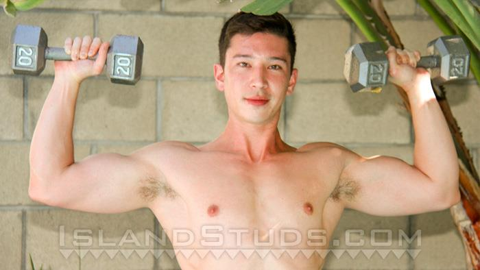 Island Studs Yuan Muscle Asian Stud Jerking His Thick Asian Cock Amateur Gay Porn 01 Young Muscle Asian Stud Jerking Off His Thick Asian Cock
